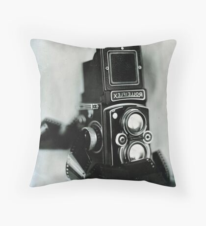 Rollei Throw Pillow