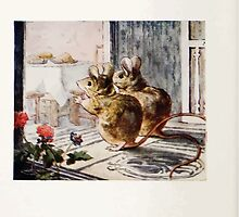 The Tale of Two Bad Mice Beatrix Potter 1904 0030 A Lovely Dinner Laid Out by wetdryvac