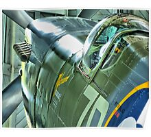 Spitfire  MH434 - OFMC`s Christmas Card 2011  Poster