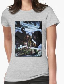 Cover: Werewolf: The Dark Ages Womens Fitted T-Shirt