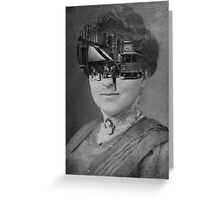 Black & White Collection -- Faded Greeting Card