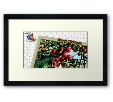 """ Holly Berries"" Framed Print"