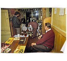 Tucker's Grave Inn, Somerset, England, UK, 80's Poster