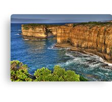Time and Motion Study - Great Ocean Road , Victoria Australia - The HDR Experience Canvas Print
