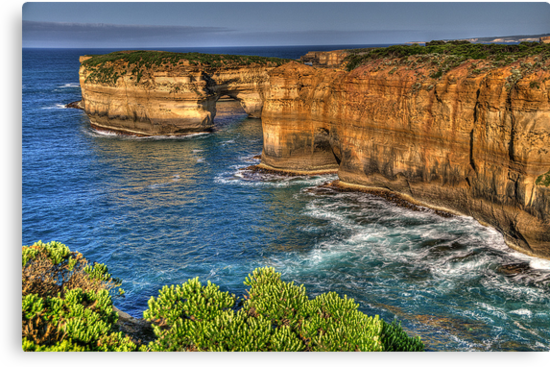 Time and Motion Study - Great Ocean Road , Victoria Australia - The HDR Experience by Philip Johnson