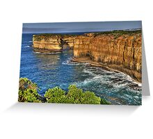 Time and Motion Study - Great Ocean Road , Victoria Australia - The HDR Experience Greeting Card