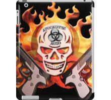 apocalypse auto skull iPad Case/Skin