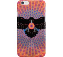 Psychedelic Raven Brings Light iPhone Case/Skin