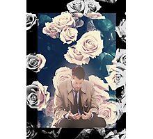 Castiel + Flowers Photographic Print