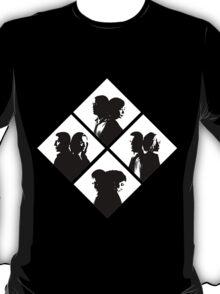 sense8 - black/white T-Shirt