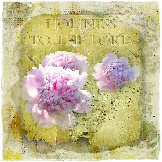 Holiness to the Lord by Olga