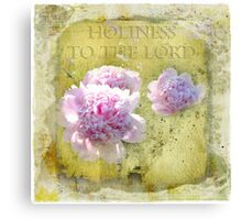 Holiness to the Lord Canvas Print