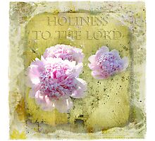 Holiness to the Lord Photographic Print