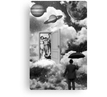 Black & White Collection -- Heaven's Door Canvas Print
