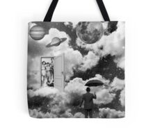 Black & White Collection -- Heaven's Door Tote Bag