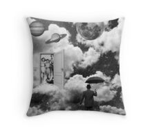 Black & White Collection -- Heaven's Door Throw Pillow