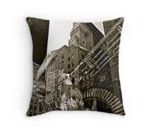 Trippin' on 5th-a series Throw Pillow