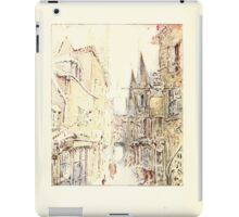 The Tailor of Gloucester Beatrix Potter 1903 0078 Cat and Tailor Out Walking iPad Case/Skin