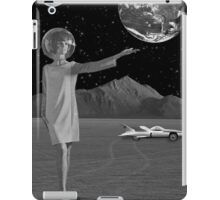 Black & White Collection -- On A Mission iPad Case/Skin