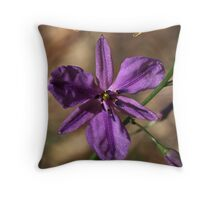 Chocolate Lily - Gippsland Throw Pillow