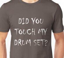 Drum Set White Unisex T-Shirt