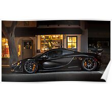 Sinister McLaren P1 Poster