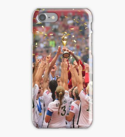 USWNT World Cup Champions 2015 Case iPhone Case/Skin