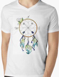 Dream Compass Minto Mens V-Neck T-Shirt