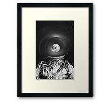 Black & White Collection -- Universe Creator Framed Print