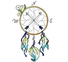 Dream Compass Minto Photographic Print