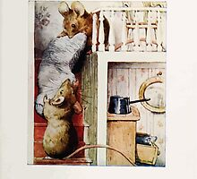 The Tale of Two Bad Mice Beatrix Potter 1904 0057 Stealing the Bolster by wetdryvac