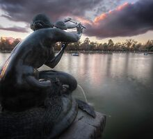 Once Upon A Time A Siren That Touched The Sky by servalpe
