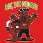 Teddy Bear Goonies by jayveezed