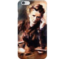 Portrait of Marie Curie iPhone Case/Skin