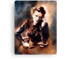 Portrait of Marie Curie Canvas Print