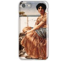 In the Days of Sappho - John William Godward, 1904 iPhone Case/Skin