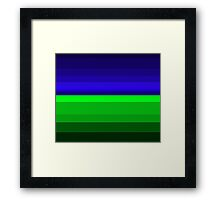 GnB Color Scale Framed Print