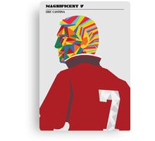 Magnificent seven - Eric Cantona Canvas Print