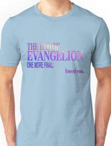 End of Evangelion Glitch Unisex T-Shirt