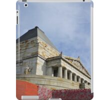 Shrine of Remembrance, Melbourne, Australia.  iPad Case/Skin