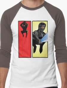 Sneak Attack! Men's Baseball ¾ T-Shirt