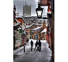 A Winter Scene Photographic Print