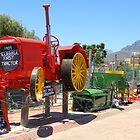 McCormick Deering Tractor 1909 by Pieta Pieterse