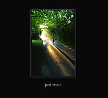 just trust.  (keyline, transparent for fabric) by seyoung9