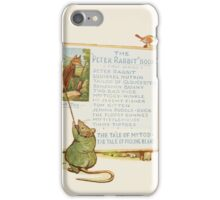 Cecily Parsley's Nursery Rhymes Beatrix Potter 1922 0062 Peter Rabbit Books Advert iPhone Case/Skin