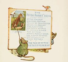 Cecily Parsley's Nursery Rhymes Beatrix Potter 1922 0062 Peter Rabbit Books Advert by wetdryvac