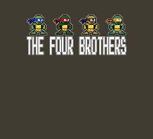 8-Bit TMNT Four Brothers Unisex T-Shirt