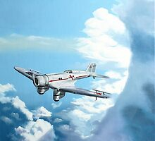 Texaco Sky Chief by Kenneth Young
