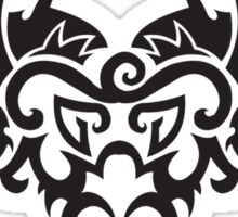 Totemic dragon sign Sticker