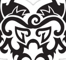 Totemic dragon sign Sticker